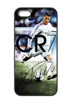 Wholesale Cristiano Ronaldo Iphone Cover - Free Shipping Cristiano Ronaldo CR7 Ready To Shoot the ball Hard Cover Case For iPhone 5 5S