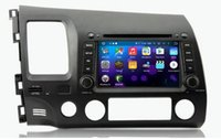 8-core 8 pouces Android 6.0 voiture dvd Gps Navi Audio pour Honda CIVIC (GAUCHE) 2006-2011 HD1024 * 600 1080P 2GB 32GB nand Wifi SWC