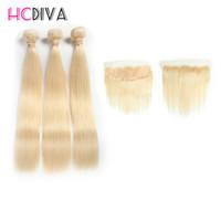fermeture malaisienne en dentelle de soie achat en gros de-HCDIV Malaisienne Vierge de Cheveux Humains de Soie de Cheveux Raides Dentelle Frontale Fermeture