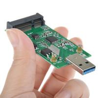 Wholesale Mini Pcie Msata - SMAKN® USB 3.0 to Mini PCIE mSATA SSD mSATA to USB 3.0 SSD don't need USB cable