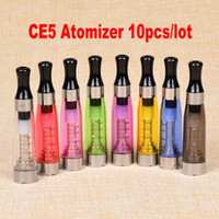 Wholesale Ego Ce5 Atomizer Clearomizer Cartomizer - Newest No wick CE5 Cartomizer,Atomizer, Clearomizer for ego Electronic Cigarette,ego-t,ego-w,510 e cigarette