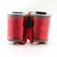 Wholesale Brand Machine Tattoo - Wholesale-Best Seller Brand New Oxygen Free Copper Wire 12 wraps coil with 28mm core for shader tattoo machine gun free shipping