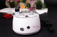 Wholesale microdermabrasion tips wands resale online - MINI Portable in1 MICRODERMABRASION SKIN PEELING DIAMOND DERMABRASION Tips Wands Cotton Filters SKIN Facial Vacuum face massager Nv108