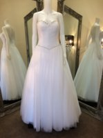 Wholesale Deb Dresses Line Sweetheart - 2017 Real Images Deb Dresses Retro A Line Sweetheart with Crystals and Beading Corset Bodice Soft Tulle Long Party Evening Prom Dresses