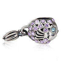 Wholesale Pandora Charms Prices - free shipping authentic 925sterling silver austria crystal fish pendant charm beads fit pandora bracelet necklace DIY making wholesale price