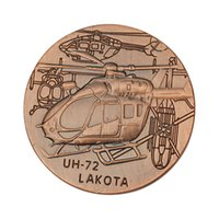 Wholesale Uh Helicopter - American Air Force UH-72 helicopter Cmmemorative Coins