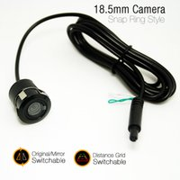 Leewa impermeabile 18.5mm Snap Ring Camera originale / specchi immagine immagine posteriore frontale commutabile # 4486