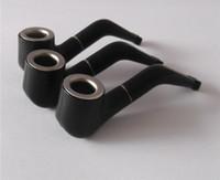 Wholesale Super Black Material - 100pcs Free Shipping Super Mini Small Smoking pipe Creative filter cigarette holder Small portable Material: Plastic+Metal