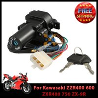 Wholesale Ignition Switch Key Set for Kawasaki ZZR400 ZXR400 ZX R ZX R ZX RR Motorcycle order lt no track