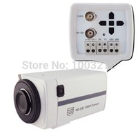 Wholesale Sdi Box - 1080P HD-SDI Color CCTV Security BOX Camera with Motion Detection-No Lens