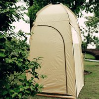 Wholesale Camp Shower Tents - Wholesale- (Ship From US) Portable Outdoor Shower Tent Toilet Tent Bath Changing Fitting Room Beach Privacy Shelter Travel Camping Tent