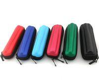 Wholesale Ego Ce5 Brand - New brand Zipper Case Ego Case E-Cig Zipper Case Leather Bag For Ego Evod Ce4 Ce5 Ce4+ Ce5+ Mod Protank Ego Start kit