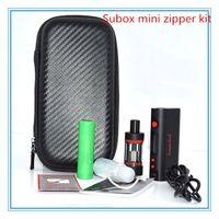 Wholesale Mini Zipper Kit - Kanger Subox mini starter kit zipper kit with 50Watt Mod 18650 battery 0.5 OCC Coil Subtank Mini
