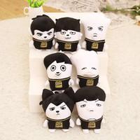 Wholesale Cheap Kids Novelty Toys - BTS Plush Dolls Korea Stars Plush Stuffed Toys Cartoon Character Doll Children Christmas Birthday Novelty Gifts Cheap Free DHL 545