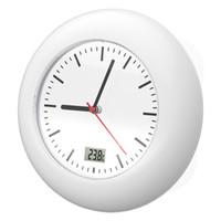 saat c toptan satış-Vantuz Duvar Saatleri Sıcaklık Sensörü Dijital Termometre Yaratıcı Hediyeler Çok Renkler Için Duvarlar Çan Su Geçirmez 78tc C R