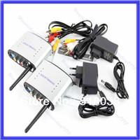 Wholesale Digital Video Transmitter Receiver - B39Free Shipping 2.4GHz Wireless AV Sender TV Audio Video Transmitter Receiver PAT-330 New