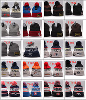 Wholesale Order Small Hats - Wholesale-Wholesale Small Order New arrival winter hat, basketball Skullies,Sport beanies hat,Football knitted hats 16 pcs Per Lot
