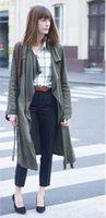 Wholesale Women S Rayon Blazers - Coat Women 2015 new fashion tencel lyocell Outerwear Tops Blazer Basic trench france top brand pimkie popular on sale hot winter