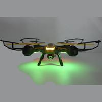 coffre à jouets d'hélicoptère achat en gros de-Quadricoptère d'hélicoptère de drone RC d'origine Drones TK107 avec caméra HD 2.4G 4.5 canaux 6-Axis avec jouet de boîte au détail WIFI