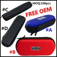 Wholesale Cigarette Factory For Sale - Factory Promotion Sale Colorful EGO Zipper Case for Electronic Cigarette Kit Carry Case with EGO Logo Bags with various color free shipping