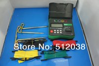 Wholesale Grinding Soil - DY4300 4-Terminal Earth Ground Resistance and Soil Resistivity Tester 0~20.99k ohm
