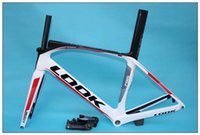 Wholesale Look Bicycle Frames - LOOK 795 White Carbon Road Bike Frame Bicycle Frameset XS S M L glossy matte include stem
