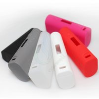 Wholesale Bags Silica - Newest Silicone Case Silicon Cases Bag Colorful Rubber Sleeve protective cover silica gel Skin for subox mini and wisemec RX200 box mod