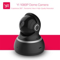 YI 1080P Dome Camera Night Vision Edizione Internazionale Xiaomi yi Pan / Tilt / Zoom Wireless IP Sistema di sorveglianza di sicurezza Monitor