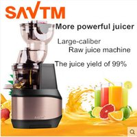 Wholesale Automatic Juice Machine - SAVTM Domestic-large-caliber Raw juice machine , slow juice machine making baby food supplement, automatic juicer Free shipping!
