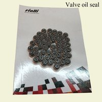 Wholesale Engine Air Cooled - RIALLI Motorcycle Engine Parts Valve oil seal Special Parts Applicable Vehicle Type ARGENTA 110 Suction Card Packing Motorcycle Accessories