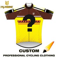 Wholesale Custom Cycling Jerseys - Custom cycling jersey bib kit men sport jersey bicycle clothes biker wear sport mtb Ropa Ciclismo bicicletas maillot ciclismo