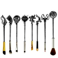 Wholesale Hot Fashion Games - 8pc 5 Style Hot Sale Fashion Women Jewelry Game of Thrones Makeup Brusshes Cosmetic Brush Tool Accessories