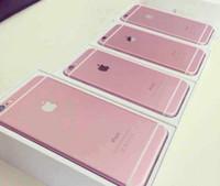 Wholesale genuine apple accessories - iPhone 6S plus Refurbished Phones Genuine Apple iPhone 6S plus Cell Phones 16G 64G 128G IOS Rose Gold Smartphone DHL free