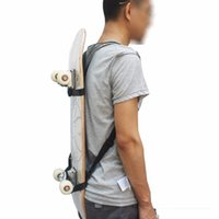 Atacado - Skate Shoulder Carrier Skateboard Mochila Strap Skateboard Backpack Carrier - Sem placa