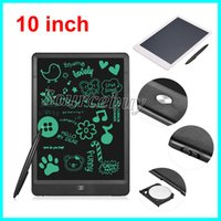"""Wholesale Wholesale Eraser Board - 10"""" LCD Writing Tablet E-Writer Pad with Eraser Lock Button Drawing Tablet Handwriting Pads Portable No radiatio Board Eye Protective Color"""