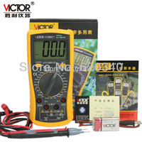 Wholesale Large Screen Multimeter - VICTOR VC890C+ Digital multimeter Diode test Large screen display of the measured temperature Free shipping order<$18no track