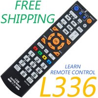 Wholesale Remote Control Copy - Universal Smart IR Remote Control with learn function, 3 pages controller copy for TV STB DVD SAT DVB HIFI TV BOX, L336