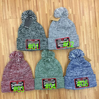 Wholesale woman winter wool dress - 2017 hip hop hat wool cap men's winter hats warm knitted hat cap Headgear Head warmer dress