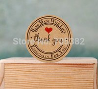 ss-1551 ss sticker - Lovely round thank you letter decoration sticker seal Stickers gift adhesive label ss