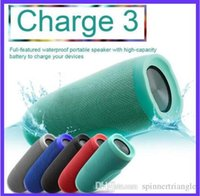 Wholesale Card Bank - Bluetooth Speaker Charge 3 Waterproof Portable Outdoor Subwoofer Speakers HIFI Wireless Music Player Handsfree TF Card with Power Bank pc