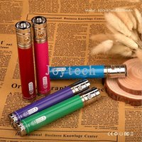 Wholesale Ego Vw - Ego twist Ego II battery carbon fibre GS EGO 2 vv vw battery 3.3V-4.8V with decoration ring KO vision spinner II