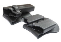 Wholesale Imi Tactical Holster - IMI Style Colt airsoft 1911 RH Pistol & Magazine quick release Paddle Retention Rot double Holster scopes for tactical hunting rifle scope