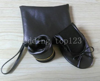 Wholesale Shoe Wholesale Dropship - Free shipping!dropship high quality women lambskin flat foldable shoes 100 pair lot