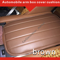 Wholesale Console Decorations - Interior accessory decoration arm rest cover cushion Land Rover Range Rover Sport Vehicle center Console box cover pad among front car seats