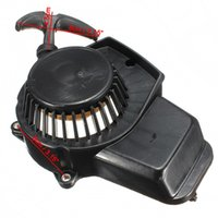 Wholesale Mini Quad Pull Starter - Wholesale- 47cc 49cc Pit Dirt Bike Minimoto Mini Quad Pull Start Starter Cord Pullstart Cog