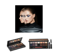Wholesale Bonus Box - Brand New 14 Color Smash Box Double Exposure Eyeshadow Palette+Bonus hot sale Mascara Eye Makeup Kit
