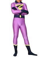 costumes jumeaux achat en gros de-Le costume de zan de jumeaux de merveille costume de zentai de partie de cosplay de Halloween