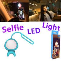 Wholesale mobile phones flash camera - Universal Selfie Ring Flash Lamp Mobile Phone LED Fill Light Selfie Ring Flash Lighting Camera Photography For Smart Mobile Phones
