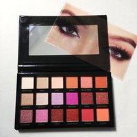 Wholesale 18 Color Eyeshadow - Factory Direct 18 color Desert eye shadow Palette Shimmer Matte Dusk Eyeshadow 18 Colors eye shadow DHL free shipping