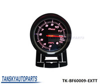 Wholesale Gauges Exhaust - Tansky Defi 60mm Exhaust Gas Temperature EGT GAUGE High Quality Auto Car Motor Gauge with Red & White Light TK-BF60009-EXTT